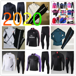 Mens tracksuit xl online shopping - new psg mens designer tracksuits jackets soccer mens tracksuits chandal training football foot chandal futbol jacket kit