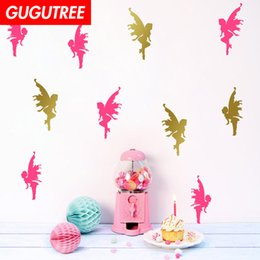 cartoon angels Australia - Decorate Home angel cartoon art wall sticker decoration Decals mural painting Removable Decor Wallpaper G-2354