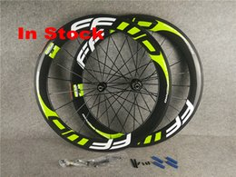 Fast Road Bicycles Australia - in stock green FFWD fast forward 60mm carbon bicycle wheels clincher road glossy cycling bike wheelset