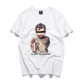 $enCountryForm.capitalKeyWord Australia - in stock Mens Clothes T Shirts Tattoo Baby Print Shirt Fashion Casual Comfortable T-Shirts His and Hers Sweethearts outfit Tees