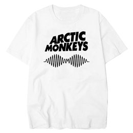 Tops & Tees T-shirts Arctic Monkeys Revolbug Humbug 1 Men T Shirt Simple Short-sleeved Cotton T-shirt Top Tee Tops Men Tee Shirts Top Tee