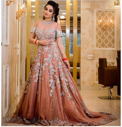 Black white short evening dresses online shopping - 2019 Aso Ebi Arabic Luxurious Sexy India Evening Dresses Lace Beaded Prom Dresses Sparkly Formal Party Second Reception Gowns ZJ356