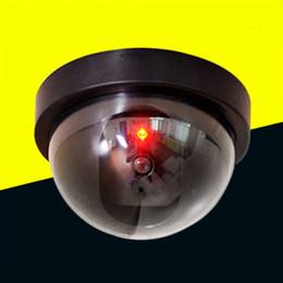 Großhandel Simulations-Kamera-Überwachung-Fälschungs-Überwachungskamera mit roter LED-Licht Home Geschäft gefälschten Sicherheits-Kameras für Innen- und Außen im Angebot