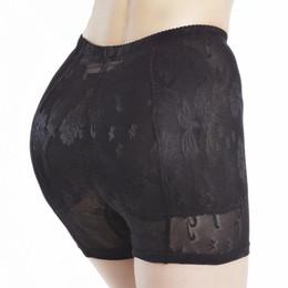 352e3be8e65 2019 New Low Rise Padded Panties WomenWomen Panty Pad 2PCs Silicone Shapewear  Bum Butt Hip Up Enhancer Underwear Gift