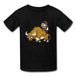 Big Neck Shirts Girls Australia - Base Shirt Fashion 2018 O-Neck Short-Sleeve Mens Big Boys' And Girls' (Age 7-16) Plants Vs Zombies Zombie Tee Shirts