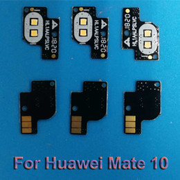 Flash Glasses Australia - 100%NEW Replacement Front Flash light lamp glass lens board For Huawei Mate 10 Mate10 board flex cable