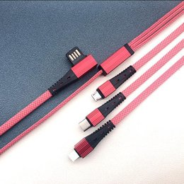 Micro Products Australia - Popular Products 2019 Best Sell 3 in 1 Usb Cable 2.4A Fast charging cable for iphone android and type-c