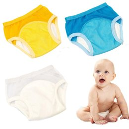 infants diaper panties Australia - New Fashion Reusable Nappies Baby Cloth Diapers Washable Infants Children Baby Cotton Training Pants Nappy Panties