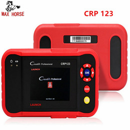 Engine Camera Australia - Launch X431 CRP123 obd2 code reader Scanner test Engine ABS SRS AT X-431 CRP 123 Auto Diagnostic Tool free update creader vii+