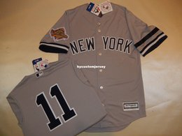 Dwight Gooden Jersey Australia - Cheap custom New York #11 DWIGHT GOODEN 1996 WORLD SERIES Baseball Jersey GRAY Mens stitched jerseys Big And Tall SIZE XS-6XL For sale