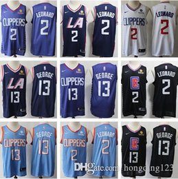 $enCountryForm.capitalKeyWord UK - 2019 new men Los Angeles Kawhi Clippers 2 Leonard Paul 13 George LA basketball jersey size s-xxl