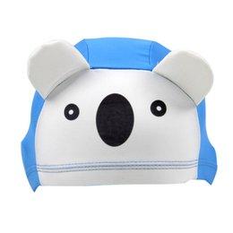 $enCountryForm.capitalKeyWord Australia - 2019 New Cute children's swimming cap Children's cartoon animal shape debut breathable and comfortable