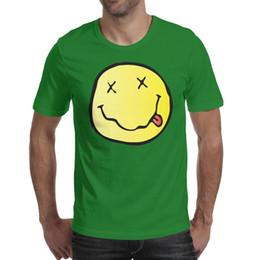 $enCountryForm.capitalKeyWord Australia - Mens design printing Nirvana Flag green t shirt printing undershirt graphic crazy friends shirts slogan t shirt creator novelty musical