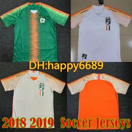 2018 Cote dIvoire Soccer Jersey Ivory Coast 11 Didier Drogba Football Shirt  18 19 Uniforms Custom Thailand 8 KALOU 10 GERVINHO 19 TOURE YAY ac8e5b431
