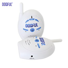 walkie talkie talk 2019 - New Nanny Baby Sitter Walkie Talkie Portable 2.4 GHz Digital Audio Baby Monitor Two Way Talk Infant Clear Cry Voice chea