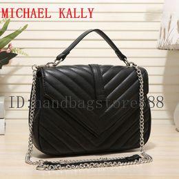 d5de5470398c NEW Brand fashion women famous brand bags MICHAEL KALLY handbags luxury  designer message bag clutch Dollar Price lady tote shoulder purse