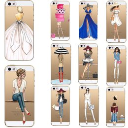 $enCountryForm.capitalKeyWord Australia - Fashion Girls Lady For Apple Iphone7 7 Plus 6 6s 5 5s Se Cases Silicon Transparent Soft Cases For Iphone 8 8 Plus Phone Case