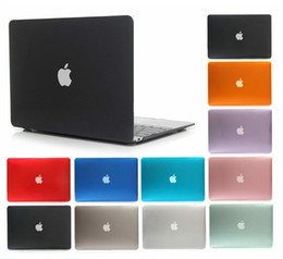 $enCountryForm.capitalKeyWord Australia - Transparent Hard Case for MacBook air pro retina 11 12 13 15 inch Front Back Full Body laptop Case Shell Cover A1369 A1466 A1708 A1278 A1465