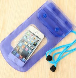 Cell Phone Cases For Cheap Canada - Waterproof Cell Phone Bag Cover for Galaxy S3 IPhone 5C 7 Iphone6 Plus 5 Neck Pouch Water Proof Bags Protector Case Universal Cheap China