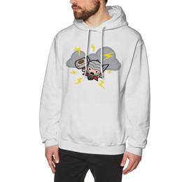 Nice Men Hoodies Australia - Thor Hoodie Kawaii Thor With Lightning Hoodies Oversized Winter Pullover Hoodie Purple Nice Mens Cotton Long Streetwear Hoodies