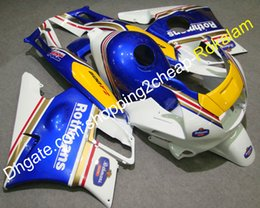 blue rothmans honda fairings NZ - Fashion Motorcycle Fairing For Honda CBR600 F2 CBR600F2 1991 1992 1993 1994 CBR 600 Rothmans White Yellow Blue Bodywork Fairings set