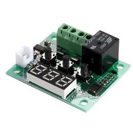 12v digital temperature controller thermostat online shopping - Digital Mini Thermostat W1209 DC V Temperature Controller Control Switch Sensor Module Degrees Temperature Controller