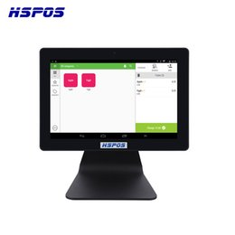 mini bluetooth barcode UK - Wholesale Quad Core Android Mini Touch Screen Pos System With 2G Ram For Supermarket Support Usb Wifi Bluetooth