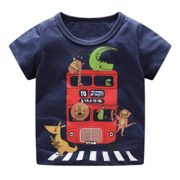 Baby Boys Tees Australia - Baby Boys T shirts for Kids Clothing 2019 Summer Children T shirt for Boy Clothes Animal Print Toddler Boy Tops Tee Shirt Fille