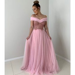Gold muslim dress online shopping - Pink Chiffon Plus Size Prom Cocktail Dresses Long Arabic Muslim Evening Formal Gown Prom Dress