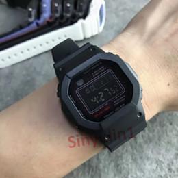 $enCountryForm.capitalKeyWord Australia - Hot Sale Mans Women Unisex Sports Watches Square Dial Solar Quartz Bracelet Wristwatches for Man Male Back Light G Style Waterproof Watches