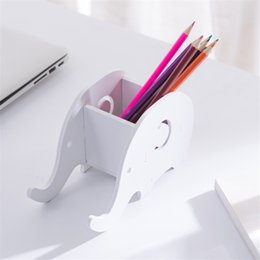$enCountryForm.capitalKeyWord Canada - Elephant DIY Office Desktop Storage Box Container Home Office Sundries Organizer Desktop Stationery Storage Pen Phone Holder