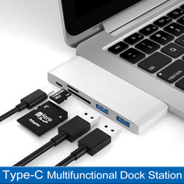 Wholesale type-c docking station macbookpro five-in-one adapter apple converter