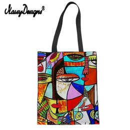 $enCountryForm.capitalKeyWord Australia - Summer Tote Canvas Messenger Shopping Bags For Women Girl 2019 Painting Franz Marc Printed Ladies High Quality Travel Handtasche