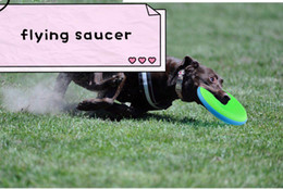 $enCountryForm.capitalKeyWord NZ - Explosive Pet Products Dog Soft Frisbee Toys Wholesale Multicolored Training Dog Special Bite-Resistant Non-toxic Buy One Free One