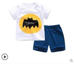 $enCountryForm.capitalKeyWord Australia - Baby Boys And Girls Designer New Style Children's Clothing For Boys And Girls Sports Suit Baby Infant Short Sleeve Clothes Kids Set