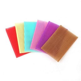 clip hair bangs fringes Australia - 20PCS small hair sticker 6x7cm 6x10cm Clip Bangs fixed Seamless Magic Paste Posts Magic Tape Fringe Hair Bang Patch