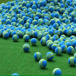 Toptan satış Golf Sünger Topu Eğitim Uygulama Yüksek Kaliteli Toyball Çevre Dostu Profess Mavi Gökkuşağı Topları Sıcak Satış 0 24hm D1