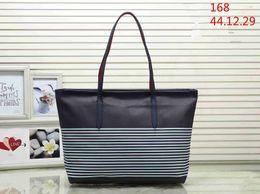 Navy Black Stripes Bags Australia - designer handbags NEVER FULL pu leather women handbag fashion totes composite fashion totes bag LoVely designer bags 02