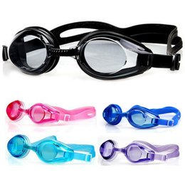$enCountryForm.capitalKeyWord Australia - New Kids Children Adjustable Swimming Goggles Swim Eyewear Eye Glasses Eyeglasses Sports Swimwear with Ear Plugs & Nose Clip