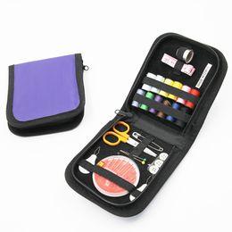 $enCountryForm.capitalKeyWord NZ - New travel portable sewing kits Sewing tools sewing kits Needle tool kits small and convenient 10 ordinary dials + orange scissors, 30 gold-