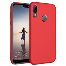 Case Huawei Lite Australia - 2019 Hot Selling Premium Shockproof liquid silicone Rubber phone case for huawei p20 lite