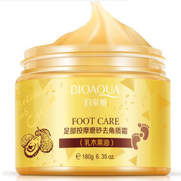Wholesale Baby Foot cream Shea Butter Moisturizing Whitening cream Foot Care Exfoliating Anti dry scrub ageless skin care