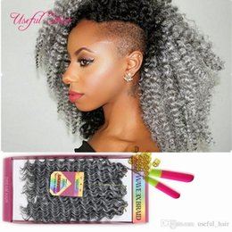 brazilian crochet braiding hair UK - sooft 2-3LOT one head freetress synthetic braiding hair preloop crochet hair extensions brazilian hair bundles pre looped savana jerry Curly
