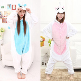 $enCountryForm.capitalKeyWord Australia - Adult Unicorn Pajamas Set Winter Warm Pyjamas Women Onesie Sleepwear Pijama Unicornio Jumpsuit Onesies For Adults