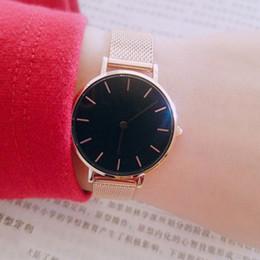 b1cb9a6332a 2019 New Fashion Couple Watch Girls Boys Steel strip Daniel watches 32mm  40mm Men Women Luxury Quartz Wristwatches
