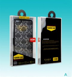 Crystal Box For Case Australia - Crystal Retail Plastic Package Packing Box Empty PVC boxes For Cell Phone Case Back Cover phone case package iPhone 7 8 Plus X 5.5