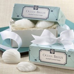 $enCountryForm.capitalKeyWord UK - Shell Shaped Small Boxed Soap Handmade Home Decor Baby Birth Shower Bath Soap Unique Souvenirs Scented Wedding Gift Party Favors