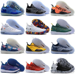 d7c3d9d73e2f Cheap Kd 11 Casual Shoes Men Women Youth Red Paranoid Persian Violet PE Fly Kevin  Durant 11s XI 2018 Casual Shoes