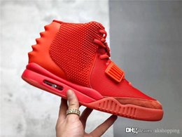 $enCountryForm.capitalKeyWord Australia - 2019 Kanye West Air 2 SP Red October Men Basketball Shoes High Quality Best Fashion Athletics Sneakers With Original box