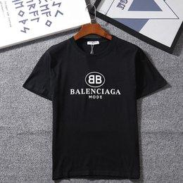 Модные мужские футболки с фирменными буквами с коротким рукавом Марка Топы Одежда Тис Повседневная футболка Новые поступления на Распродаже